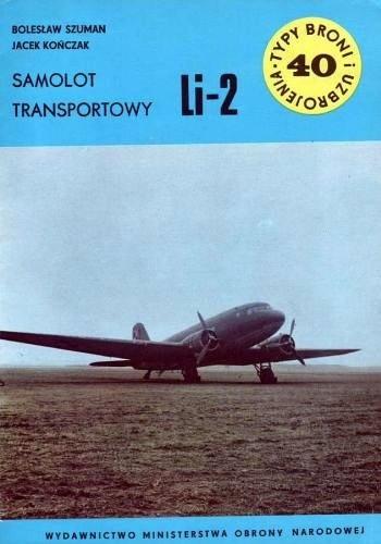 Okładka książki Samolot transportowy Li-2