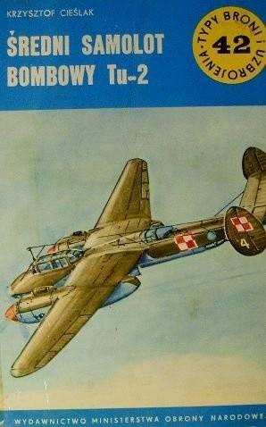 Okładka książki Średni samolot bombowy Tu-2
