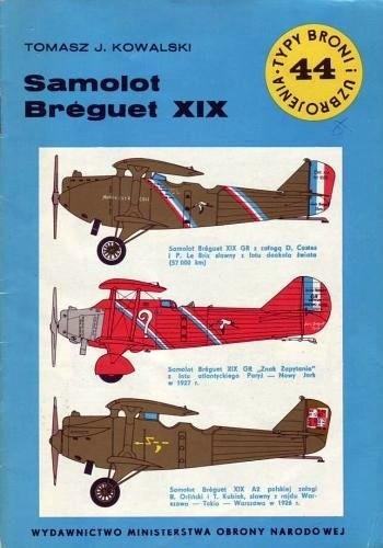 Okładka książki Samolot Breguet XIX