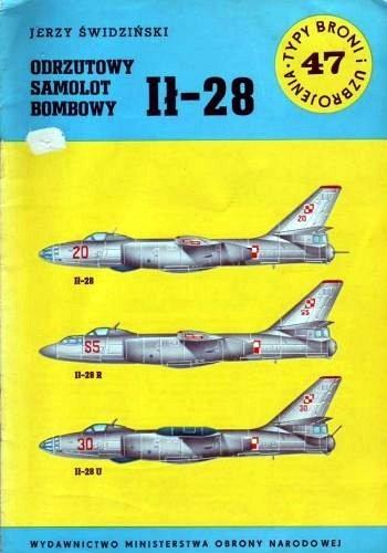Okładka książki Odrzutowy samolot bombowy Ił-28