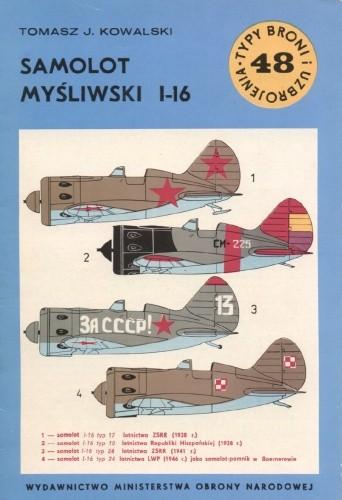 Okładka książki Samolot myśliwski I-16