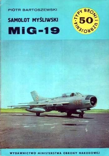 Okładka książki Samolot myśliwski MiG-19