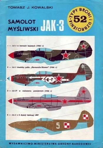 Okładka książki Samolot myśliwski Jak-3