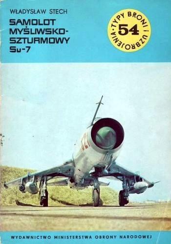 Okładka książki Samolot myśliwsko-szturmowy Su-7