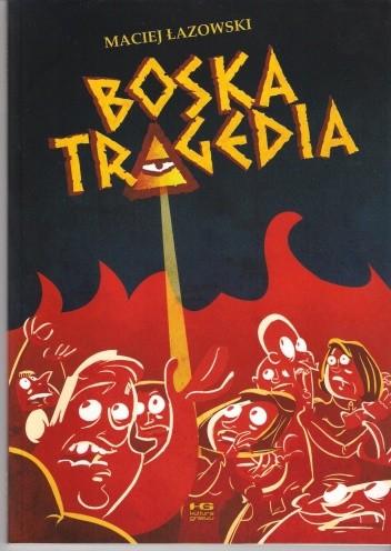 Okładka książki Boska tragedia