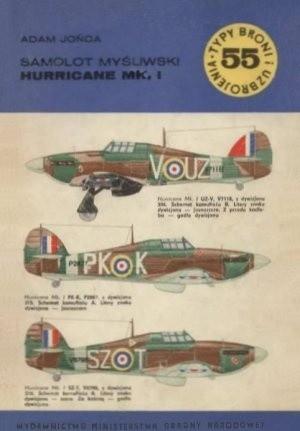 Okładka książki Samolot myśliwski Hurricane Mk.I