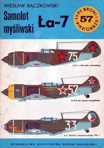 Okładka książki Samolot myśliwski Ła-7