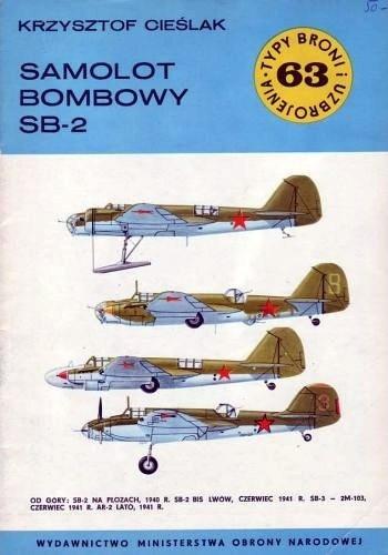 Okładka książki Samolot bombowy SB-2