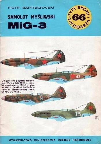 Okładka książki Samolot myśliwski MiG-3