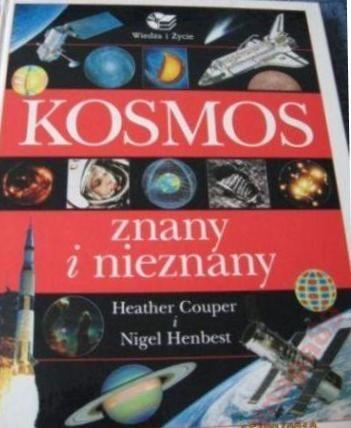 Okładka książki Kosmos znany i nieznany
