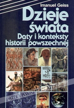 Okładka książki Dzieje świata. Daty i konteksty historii powszechnej