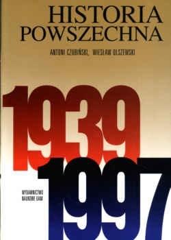 Okładka książki Historia powszechna 1939-1997