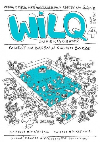 Okładka książki Wilq Superbohater: Powrót na basen w Suchym Borze