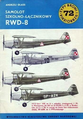 Okładka książki Samolot szkolno-łącznikowy RWD-8