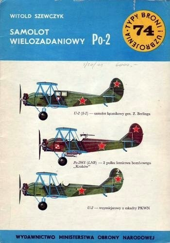 Okładka książki Samolot wielozadaniowy Po-2