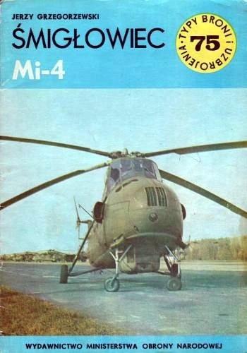 Okładka książki Śmigłowiec Mi-4