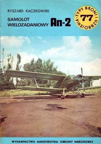 Okładka książki Samolot wielozadaniowy An-2