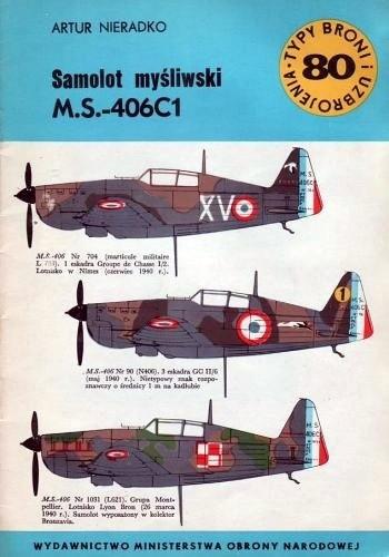 Okładka książki Samolot myśliwski M.S.-406C1