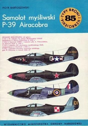 Okładka książki Samolot myśliwski P-39 Airacobra