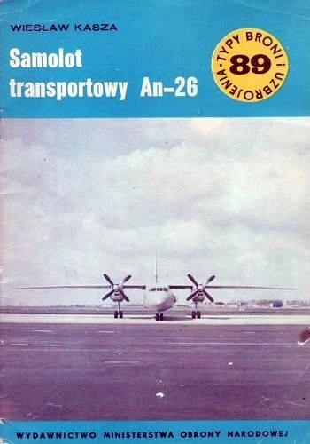 Okładka książki Samolot transportowy An-26