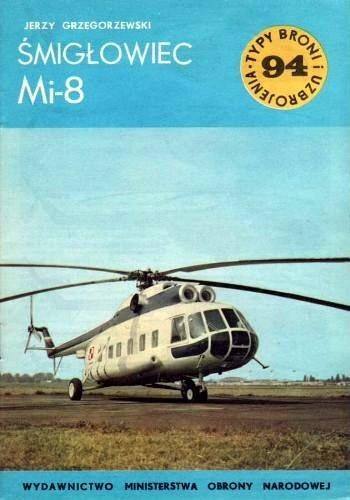Okładka książki Śmigłowiec Mi-8