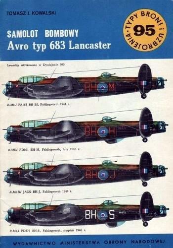 Okładka książki Samolot bombowy Avro typ 683 Lancaster