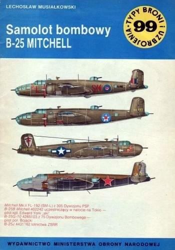 Okładka książki Samolot bombowy B-25 Mitchell