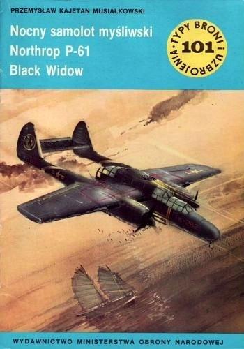 Okładka książki Nocny samolot myśliwski Northrop P-61 Black Widow
