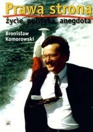 Okładka książki Prawą stroną - życie, polityka, anegdota