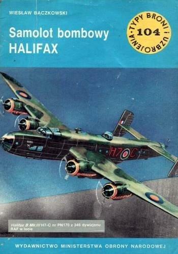 Okładka książki Samolot bombowy Halifax