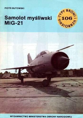 Okładka książki Samolot myśliwski MiG-21