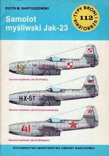 Okładka książki Samolot myśliwski Jak-23