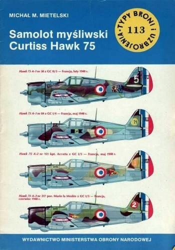 Okładka książki Samolot myśliwski Curtiss Hawk 75