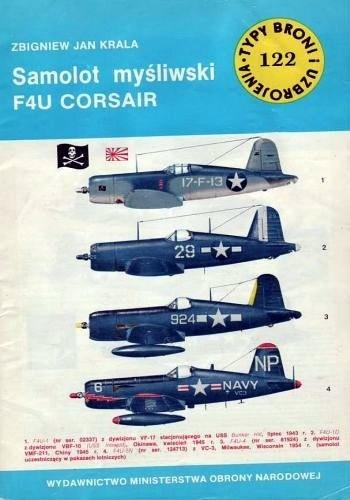 Okładka książki Samolot myśliwski F4U Corsair