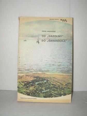 Okładka książki Od Gazoliny do Ganandoca