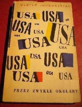 Okładka książki USA przez zwykłe okulary