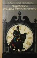 Okładka książki Tajemnica zegara królewskiego