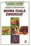 Okładka książki Mowa ciała zwierząt