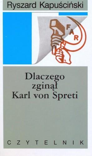 Okładka książki Dlaczego zginął Karl von Spreti