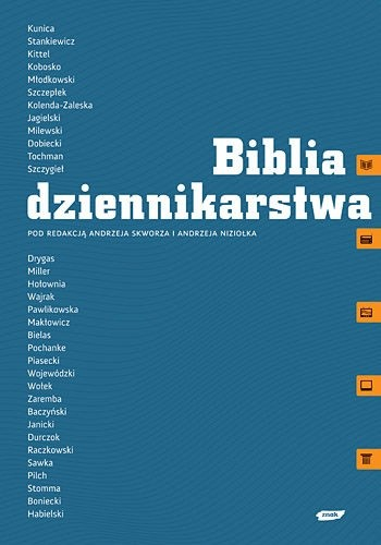 Okładka książki Biblia dziennikarstwa