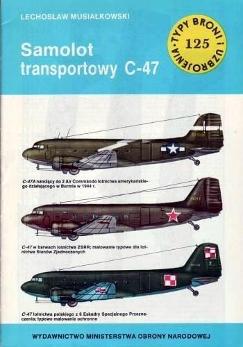 Okładka książki Samolot transportowy C-47
