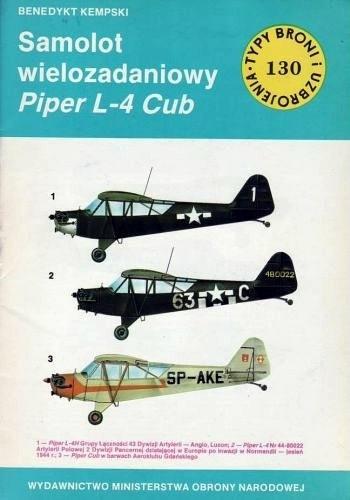 Okładka książki Samolot wielozadaniowy Piper L-4 Cub