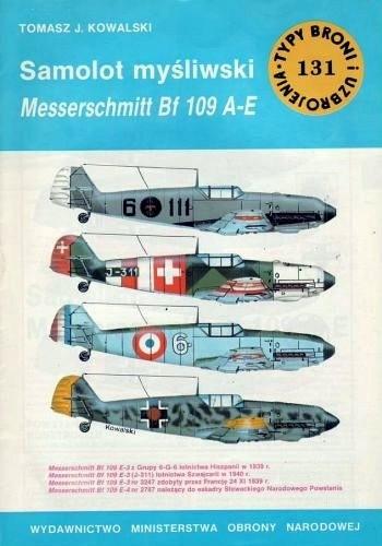 Okładka książki Samolot myđliwski Messerschmitt Bf 109 A-E