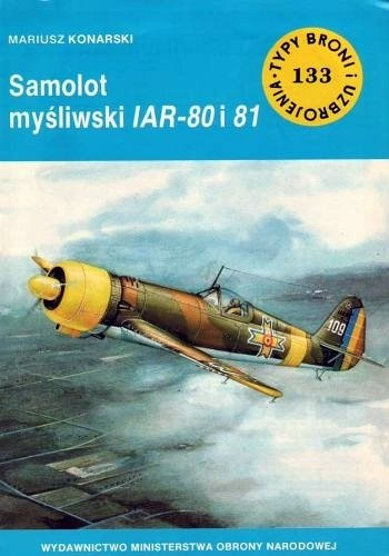 Okładka książki Samolot myśliwski IAR 80 i 81