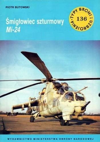 Okładka książki Śmigłowiec szturmowy Mi-24
