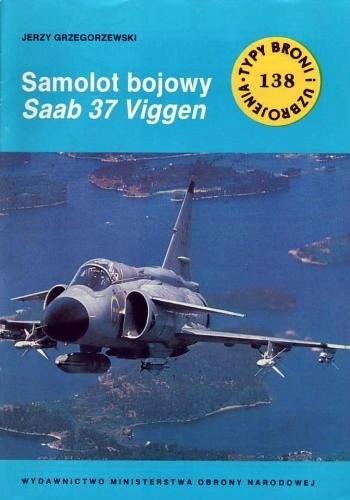 Okładka książki Samolot bojowy Saab 37 Viggen