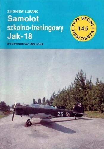 Okładka książki Samolot szkolno-treningowy Jak-18