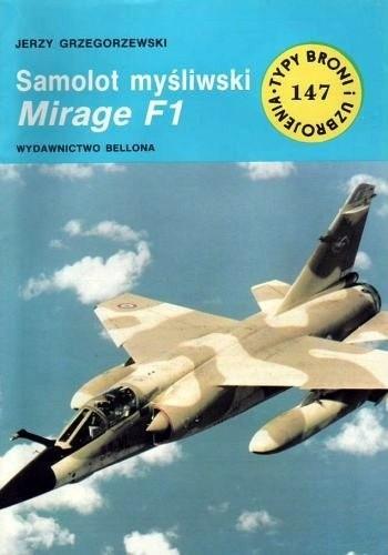 Okładka książki Samolot myśliwski Mirage F1