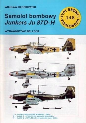 Okładka książki Samolot bombowy Junkers Ju 87 D-H