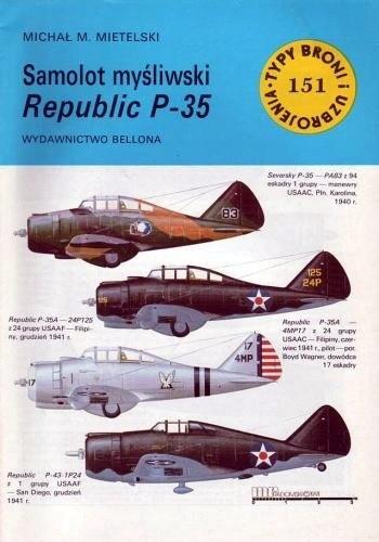 Okładka książki Samolot myśliwski Republic P-35
